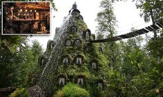 In the heart of the southern Andes, the unexpected Montaña Mágica Lodge, located on the 300,000-acre Huilo Huilo Biological Reserve, is a real-life fairy tale for guests looking for a unique hotel stay.