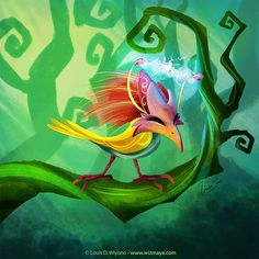 Shokagu, my #IMAGINARYPOKEMON for #sketch_dailies. I really have no idea what I'm doing. #illustration #pokemon #creature