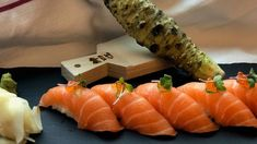 Foto: Jonathan Romano Ciabatta, Frisk, Sushi, Ethnic Recipes, Food, Meals, Yemek, Eten