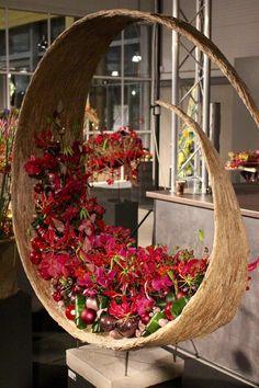 Flowers art arrangements ikebana 52 new ideas Design Floral, Art Floral, Deco Floral, Art Design, Floral Flowers, Spring Flowers, Design Ideas, Ikebana, Flower Show