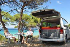 5 Ingenious European Camper In A Box Designs Transform A Basic Van into a Micro Camper – RV Mods – RV Guides – RV Tips   DoItYourselfRV