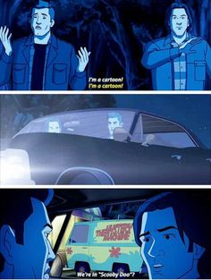 #supernatural #scooby do