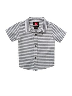 KTP0Baby Swamis Short Sleeve Shirt by Quiksilver - FRT1