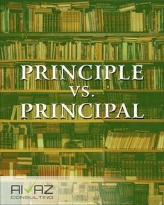 Principle is a fundamental truth or proposition that serves as the foundation for a system of belief or behaviour. - He is a man of principle. - He did not seem to believe in the basic principles of justice. Principal is the first in order of importance, or the most important/senior person in an organization, or denotes an original sum invested. - The principal cities in Ontario are Ottawa and Toronto. - The principal amount of his investment was over a million dollars. #learnenglish… Technical Writing, Ottawa, Learn English, Grammar, Service Design, Ontario, Behavior, Toronto, Cities