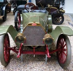Bugatti 13 - 1910 - Vintage car at the National Technical Museum of Prague… Vintage Cars, Antique Cars, Bugatti, Gallery, Vehicles, Czech Republic, Face, Prague, Museum