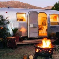Glamping in California, USA - Big Sur Getaway, Airstream Camping Airstream Camping, Airstream Living, Airstream Trailers, Camping Glamping, Airstream Rental, Camping Tips, Tiny Trailers, Luxury Camping, Camping Checklist