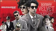 Ranbir Kapoor, Anushka Sharma starrer 2015 Most Awaited Film Bombay Velvet trailer has released. Ranbir Kapoor launched this trailer during the Second Quarter Final match India vs Bangladesh in Melbourne. Bombay Velvet Movie, Latest Indian Movies, Bollywood Box, Bollywood Gossip, Bollywood News, 2015 Movies, Upcoming Films, Anushka Sharma, New Poster