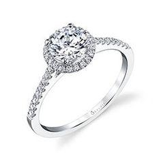 Classic Round Brilliant Petite Diamond Engagement Ring