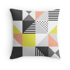 Scandinavian style colorful pattern