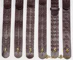 Pas zdobiony do Gitary - 6 wzorów