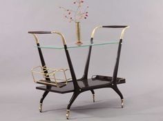 bar trolley by Cesare Lacca image 3