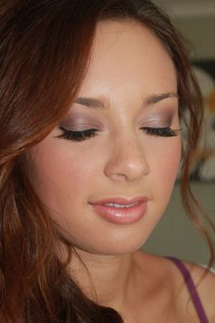 Formal makeup.  Makeup by Bryana Duval.