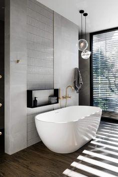 Our top 6 bathrooms from the 2018 Australian Interior Design Awards. Australian Interior Design, Interior Design Awards, Contemporary Interior, Modern Bathroom Design, Bathroom Interior Design, Interior Stairs, Bathroom Designs, Design Kitchen, Minimalist Bathroom Design