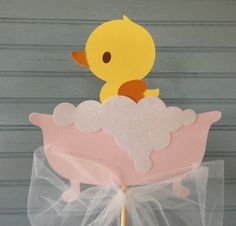 Rubber Ducky Baby Shower Centerpiece by NoOneLikeYou on Etsy, $15.00