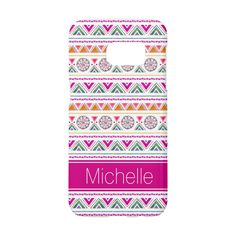 Cute Customizable Modern Pretty Colorful Pink Yellow Green White Geometric Aztec Watercolor Painted Pattern Stylish Samsung Galaxy S7 Case features a beautifully fashionable and trendy classy chic design and makes a uniquely lovely birthday - perfect for a teenage girl, graduation, Christmas, wedding, or any day celebrations party gift for yourself, best friend, or family member. #girls #womens #galaxycases #style #pretty #aztec #girlygirlgraphics #zazzle