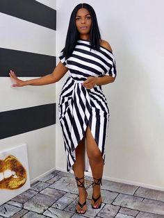Maxi Wrap Dress, Black Midi Dress, Striped Dress, Midi Dresses, Trendy Dresses, Strapless Dress, Bodycon Dress, Paisley, Trend Fashion