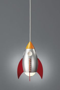 Childrens Ceiling Light Kico Rocky The Rocket Novelty Ceiling Light in Home, Furniture & DIY, Children's Home & Furniture, Lighting Novelty Lamps, Novelty Lighting, Kids Lighting, Home Lighting, Rocket Lamp, Kids Lamps, Light And Space, Light Fittings, Ceiling Lamp