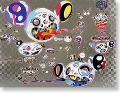 "Takashi Murakami ""Hands Clapsed"" © 2015 Takashi Murakami/Kaikai Kiki Co., Ltd. All Rights Reserved."