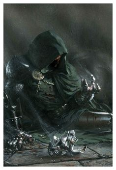 Dr. Doom by Gabriele Dell'Otto