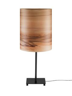 Night Lights SVEN  Bedside Light  Wood shade  by Sponndesign