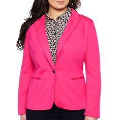 Plus Size Women's jcp Knit Blazer - Plus - 44% off