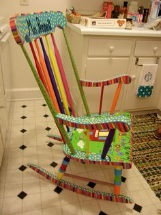 That's So Second Grade!: Monday Made It: Teacher Rocking Chair
