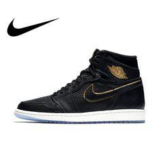 b6922e08177 Original Official Authentic NIKE AIR JORDAN 1 RETRO HIGH OG Men Basketball  Shoes. Running Shoes NikeShoes SportNike ShoesSneakers ...