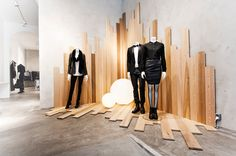 :: RETAIL :: INTERIORS :: FASHION :: love the new Filippa K retail interiors…