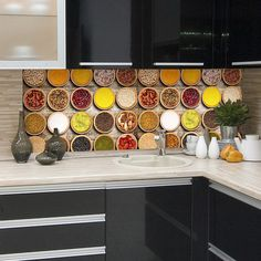 Found it at Wayfair - Spices Kitchen Wall Decal