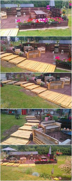 Pallet Terrace and Walkway