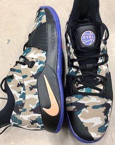 meet 45592 048d3 First Look Nike PG 2 EYBL Camo