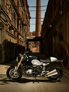 The new BMW R Nine T.