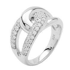 Fossil Women Ring JF16485 Silver 925
