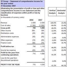 ProForma Income Statement  Business Templates