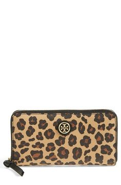 Tory Burch 'Kerrington' Continental Wallet available at #Nordstrom