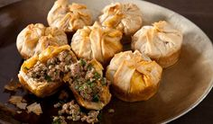 These Moroccan Beef Bundles elevate a pound of ground beef into gourmet fare. Moroccan Beef, Moroccan Dishes, Moroccan Recipes, Morrocan Food, Moroccan Theme, Beef Recipes, Cooking Recipes, Good Food, Yummy Food