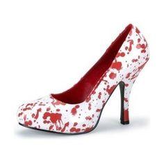 zombie bride shoesss!