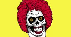 This is what Ronald does in his spare time. #clowns #evilclowns ...