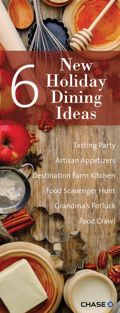When the stress of holiday entertaining gets the best of you, take a deep breath and a different approach. Here are six new dining ideas for your next get-together.