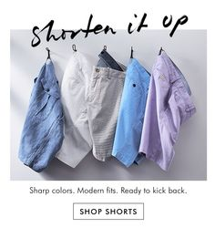 017706dad0ad0 Shorten it up   SHOP SHORTS Still Photography, Clothing Photography,  Product Photography, Fashion