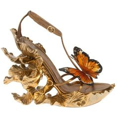 butterfly dress shoes found on Polyvore