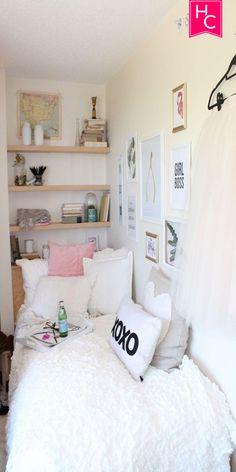 What I Love About My Tiny Dorm Room | Tiny | Dorm | Room