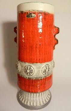 Red-white Bay vase $129
