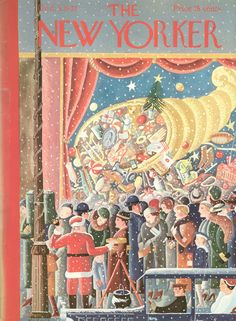 New Yorker Christmas Covers, Then and Now - The New Yorker