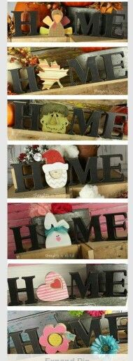 Home seasonal letters