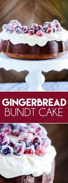 Gingerbread Bundt Cake with Cream Cheese Frosting https://www.somethingswanky.com/gingerbread-bundt-cake-cream-cheese-frosting/?utm_campaign=coschedule&utm_source=pinterest&utm_medium=Something%20Swanky&utm_content=Gingerbread%20Bundt%20Cake%20with%20Cream%20Cheese%20Frosting