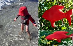 poisson / tuto / couture Couture Sewing, Dinosaur Stuffed Animal, Blog, Fish, Haute Couture, Blogging, Couture