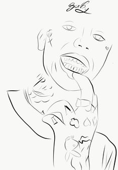 Lil Peep Rapper Coloring Pages - blogdalimoa