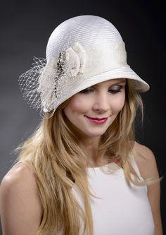 Cloche hat y Marge Iilane BY MARGE IILANE #millinery #hats #HatAcademy