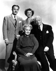 """1944 """"THE THIN MAN GOES HOME"""" STARRING WILLIAM POWELL, MYRNA LOY, LUCILLE WATSON AND HARRY DAVENPORT"""